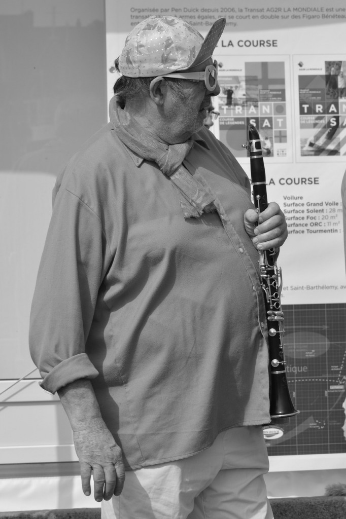 ehrenfelder-musikschule-köln-klarinette alter mann mit kappe